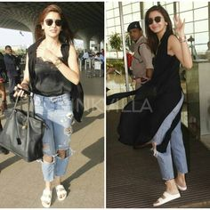 Anushka Sharma makes a stylish entry at the airport! Like her look? @pinkvilla �� . . #pinkvilla #anushkasharma #airportdiaries #airportfashion #bollywood #actress #celebrity #adorable #star #bollywood #beautiful #gorgeous #fashion #style #fashionista #beauty #glam #casual http://tipsrazzi.com/ipost/1515998955946948442/?code=BUJ6QSxFLda