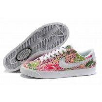 pretty nice b0f44 12fe2 Nike Wmns Blazer Faible Prm Pitaya Femme Sneakers Paris-20 Vintage Nike,  Shoes Uk