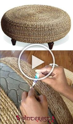 Pin by Carla Galloway on Diy Home Decor in 2020 Diy For Teens, Diy Crafts To Sell, Diy Crafts For Kids, Home Crafts, Tire Furniture, Home Decor Furniture, Refurbished Furniture, Repurposed Furniture, Furniture Projects