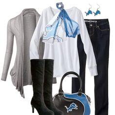 Detroit Lions Fall Fashion