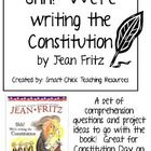 Shh! We're Writing the Constitution:  Comprehension Questions and Projects $