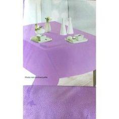 Nappe De Table Nappe en tissu carrée 180x180 cm CAPUCHON ORCHIDEE