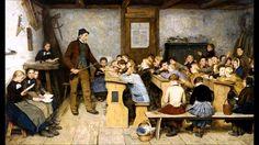 Albert-Anker (1831-1910) La scuola del villaggio
