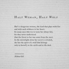 "8,826 curtidas, 114 comentários - Nikita Gill (@nikita_gill) no Instagram: ""#poem #poetry #nikitagill #quotes #writing"""