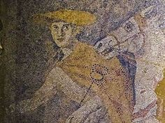 Archeologists digging through a vast ancient tomb in Amphipolis in northern Greece have uncovered a floor mosaic that covers the whole area of a room seen as the antechamber to the main burial ground.