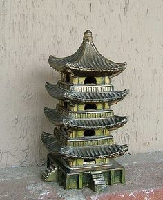 1950s Japanese Pagoda Incense Burner