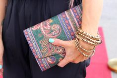 TytDIY: Clutch Makeover Bangles, Bracelets, Diy Fashion, Gold, Jewelry, Jewlery, Jewerly, Schmuck, Jewels