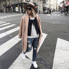 Before your sleep, this  #boyfriend #denim #outfit @forever21 on noholita.fr  #bluejeanbabe | nouveau look sur le blog, à demain les filles