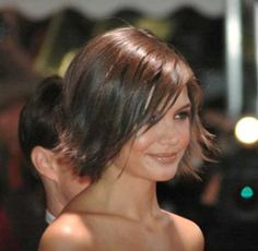 short choppy bobs brown - Google Search