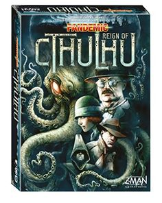 Pandemic Reign Of Cthulhu Board Game Z-Man Games