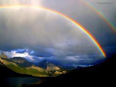 Fenómenos atmosféricos y terrestres: El arco iris. Curiosidades.