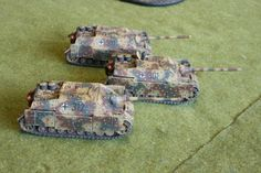 Pz IV 70vs for Flames of War. Painted by Panzer Schule.