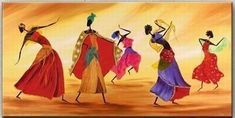 Ideal for every room, the canvas will come unframed. If you need a framework, please contact us, Canvas Painting - Hand painted African Dance - Wall Art Beautifully crafted with great care Delivered within days of satisfied customers Lifetime warranty Buy Paintings Online, Online Painting, African Dance, African Art, African Life, Chakras, Dance Paintings, Oil Paintings, Canvas Painting Landscape