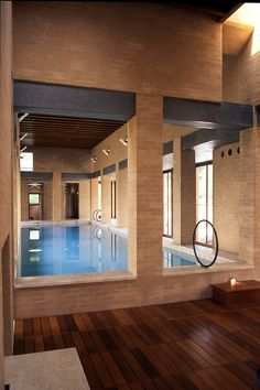 indoor pool with scabetti fish sculpture design by dynargh design cool pools pinterest fish sculpture indoor pools and indoor