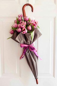 Origineel cadeau voor Moederdag #8. Weg met die vaas #Moederdag #gifts #flowers #presents #diy #Beaublue