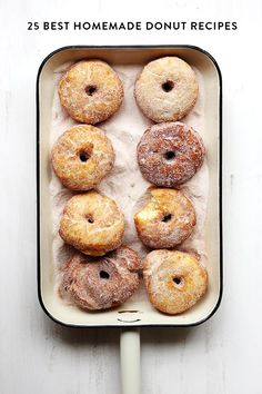 25 Best homemade donut recipes for National Donut Day