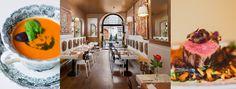 Dania oraz wnętrze restauracji Pod Nosem, fot. materiały prasowe restauracji / www.podnosem.com