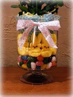 super easy...Easter Centerpiece