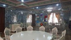 """Initially buiding """"Kohi Navruz"""" (Palace of Nowruz) was planned as a teahouse in Dushanbe, Tajikistan, but during the construction become into a palace. """"Kohi Navruz"""" has - 12 unusual halls, each of which is made in a special style. The complex has an art room, a banquet hall, a lounge room with carved stone trim, plaster room decorated with mirrors, two VIP rooms. At the same time building is ready to place 3 thousand 200 guests."""