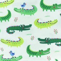 Illustration Crocodile, Baby Illustration, Alligator Crafts, The Enormous Crocodile, Crocodile Tattoo, Notebook Doodles, Kids Patterns, Pretty Green, Animal Drawings