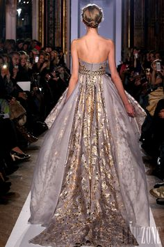 زهير مراد [Zuhair Murad] - أزياء راقية - Official pictures, ربيع-صيف 2013 - http://www.lebanese-fashion.com/fashion/couture-1/fashion-houses/zuhair-murad-3366