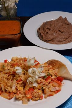 El Salvador refried beans are absolutely amazing. They are typically made with a red bean however a pinto bean can also be used. Honestly the secret to the beans is the flavoring by slowly cooking an onion until burnt. I know it sounds strange but trust me it works perfectly. You will ...