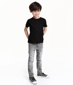 Skinny Fit Jeans | Gris | Niños | H&M MX