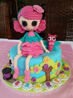 """Lallaloopsy Cake by """"Fantasy Cakery"""""""