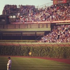 Wrigley Field- Cubs. One of the oldest baseball fields in U.S.   Been her a few times