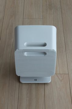 Electric heater An electric heater with special heating unit Produced by Plus Minus Zero