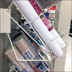 Shelf Paper Endcap Rack Declined Display – Fixtures Close Up Shelf Paper, Target, Shelves, Display, Storage, Wall, Home Decor, Floor Space, Purse Storage