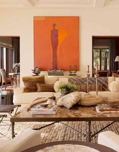 Marin Living Room - Suzanne Tucker Interiors