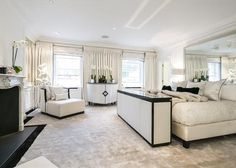 Stylish period house in Mayfair London, on the market Bed Room, Alcove, Period, Home And Garden, Real Estate, London, Marketing, Stylish, House