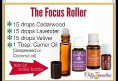 With Essential Oils: Supporting Mental Focus The Focus Roller by Young LivingThe Focus Roller by Young Living Doterra Essential Oils, Natural Essential Oils, Essential Oil Blends, Essential Oils For Autism, Valor Essential Oil, Doterra Blends, Doterra Oil, Young Living Oils, Young Living Essential Oils