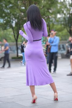 Sexy Outfits, Fashion Outfits, Tight Dresses, Sexy Dresses, Look Girl, Girl Fashion, Womens Fashion, Sexy Asian Girls, Hot Girls