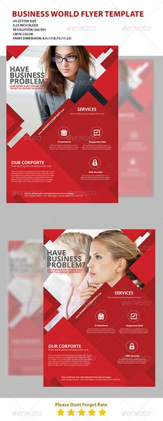 Business Flyer Template 2014 - Corporate Business Cards