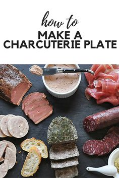 How to Assemble a Cheese and Charcuterie Board - When it's time to plan a party, we always vote for a charcuterie board. This platter of smoked, cured and cooked meats is perfect for a pre-dinner spread, small bites and cocktails, or even for a football viewing party. But we love cheese almost as much as charcuterie, so it seemed natural to pair them and make one big, fantastically tasty platter.