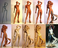 T.K Miller - sculptor and artist of the week   reADactor