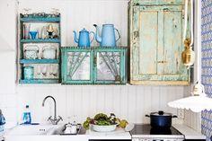 Repurposed cabinets