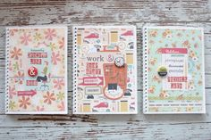 Mish Mash: On organizing....a notebook for everything