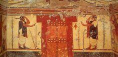 Tomba delle leonesse. Tarquinia | La pittura etrusca ... | 236 x 114 jpeg 8kB