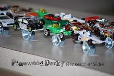 Pinewood Derby Neckerchief Slides
