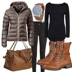 BraunerHerbst Outfit - Herbst-Outfits bei FrauenOutfits.de