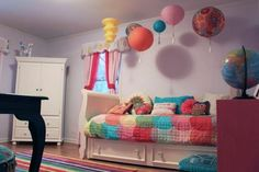 Madelyn's Colorful Mosaic — Room Tour
