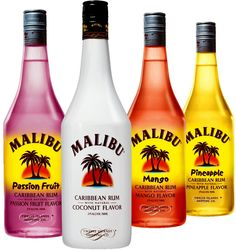 Boil 1 cup water. Add in 1 package watermelon jello. Stir until fully dissolved. Remove from heat and stir in 1/2 cup Malibu rum and 1/2 cup peach schnapps. Let cool before pouring into cups. Refrigerate at least 4 hours or until firm