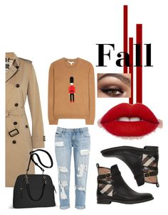 """""""Csc"""" by nymstyle0 on Polyvore featuring Burberry and Avenue"""