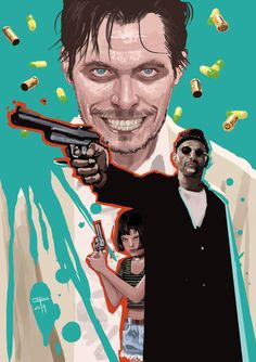 Leon: The Professional by German Peralta *