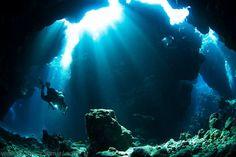 Image result for подводная пещера