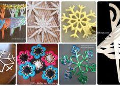 Snowflake Idées Projets de bricolage avec Instructions