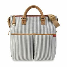 SKIP*HOP® Duo Special Edition Luxe Diaper Bag in French Stripe - BedBathandBeyond.com
